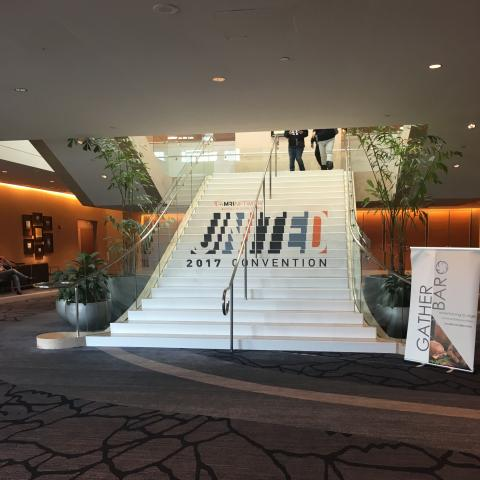 MRINetwork United 2017 Convention Logo Staircase Usage